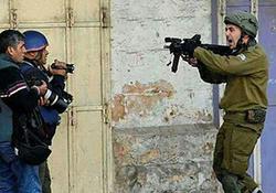تهدید خبرنگار خبرگزاری صدا و سیما در کرانه باختری + فیلم