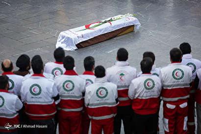 باشگاه خبرنگاران -تشییع پیکر سیدعلی حسینی، آخرین کوهنورد بازمانده از حادثه اشترانکوه در مشهد