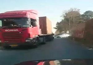 شهروندخبرنگار تهران؛ جاده پرحادثه شهریار- سعیدآباد + فیلم