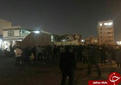انفجار گاز دو واحد مسکونی در اهواز را منهدم کرد+ تصاویر