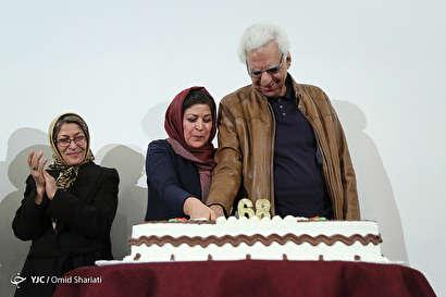 باشگاه خبرنگاران -جشن تولد کیومرث پوراحمد در موزه هنرهای دینی امام علی(ع)