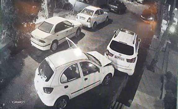 باشگاه خبرنگاران -سهل انگاری باورنکردنی راننده تیبا خسارت سنگین روی دستش گذاشت! + فیلم