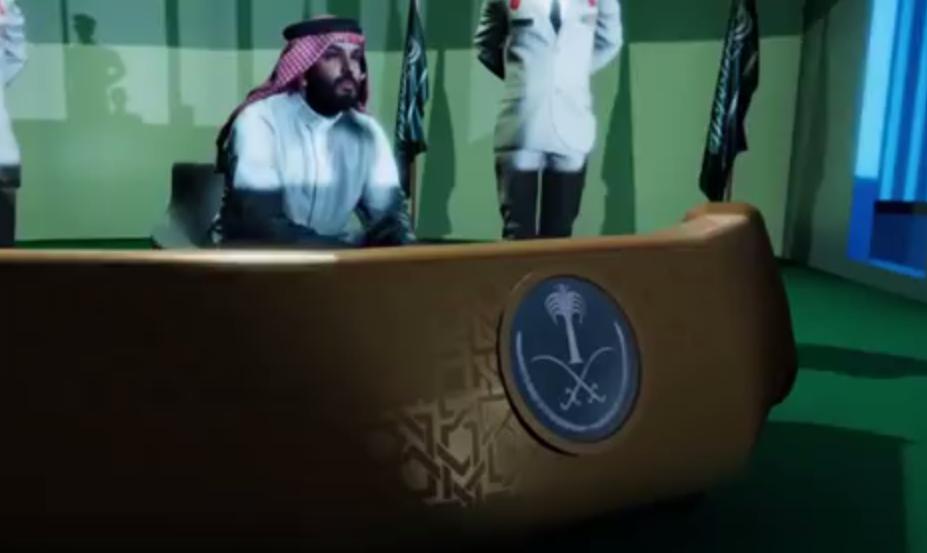 آل سعود، آرزوی خود برای شکست قاسم سلیمانی را در انیمیشنی به نمایش گذاشت