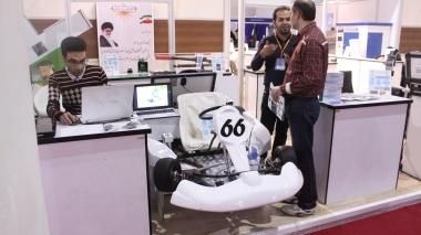 رونمایی از خودروی کارتینگ برقی در نمایشگاه پژوهش و فناوری