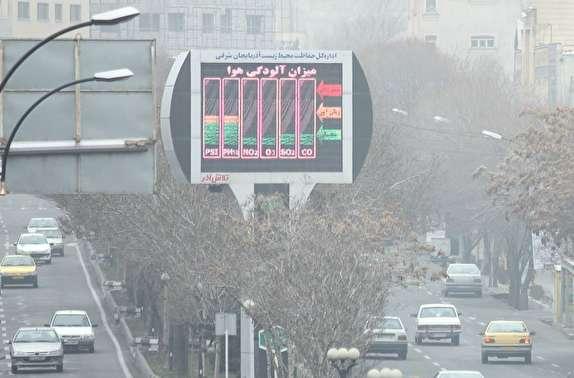 باشگاه خبرنگاران -هوای تبریز ناسالم برای تمام گروه ها