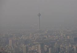 وقتی آلودگی هوا هم نمیتواند جلوی ترافیک تهران را بگیرد + فیلم
