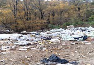 دپوی آشغال در طبیعت زیبای «کاسگرمحله» + فیلم