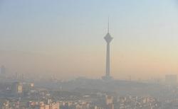 آلودگی هوای تهران از دید یک خلبان +فیلم