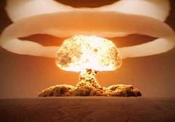 لحظه انفجار بزرگترین بمب اتمی جهان + فیلم