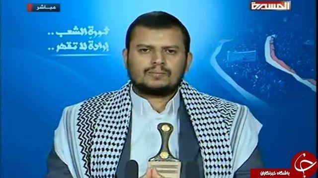 آغاز سخنرانی دبیرکل جنبش انصارالله یمن