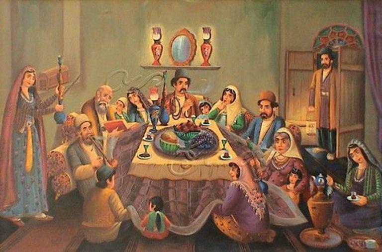 رسمی ماندگارکه دل ها را به هم نزدیک می کند/زیبایی های یلدا در سراسر ایران
