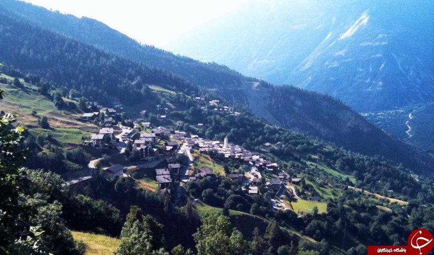 پرداخت 60 هزار یورو برای نقل مکان به روستای زیبایی در سوئیس+تصاویر