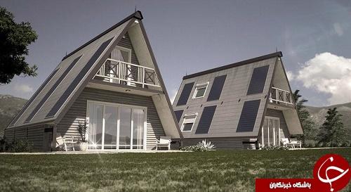 خانههایی که در ۶ ساعت برای زلزلهزدهها ساخته میشوند +تصاویر