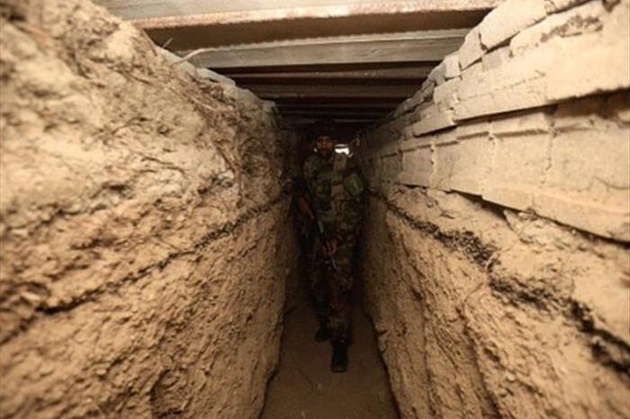 کشف یک شبکه تونل تروریستهای داعشی در صلاح الدین عراق