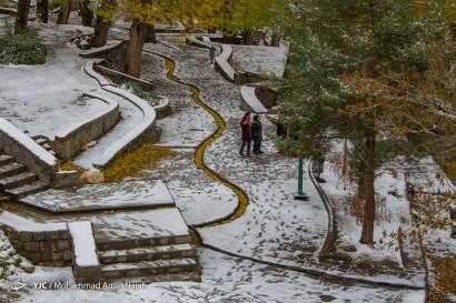 باشگاه خبرنگاران -بارش برف در همدان