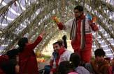 باشگاه خبرنگاران -حمایت روانی تیمهای سحر هلال احمرمازندران در مناطق زلزله زده کرمانشاه +تصاویر