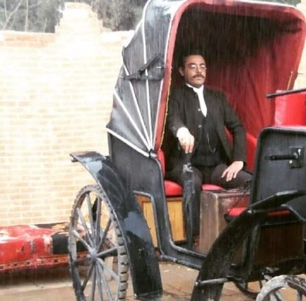 تصویرجدید سام قریبیان در سریال ایراندخت
