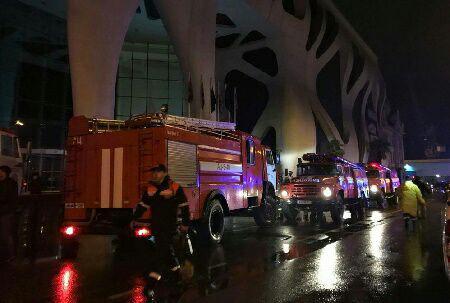 ۱۲ کشته در حادثه آتش سوزی در هتلی در شهر ساحلی باتومی در گرجستان