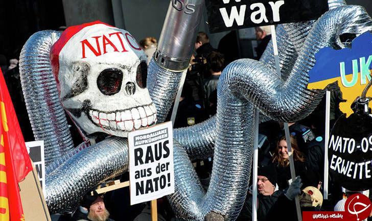 ناتو؛ سازمانی که طراح اخبار جعلی روز اروپاست+تصاویر