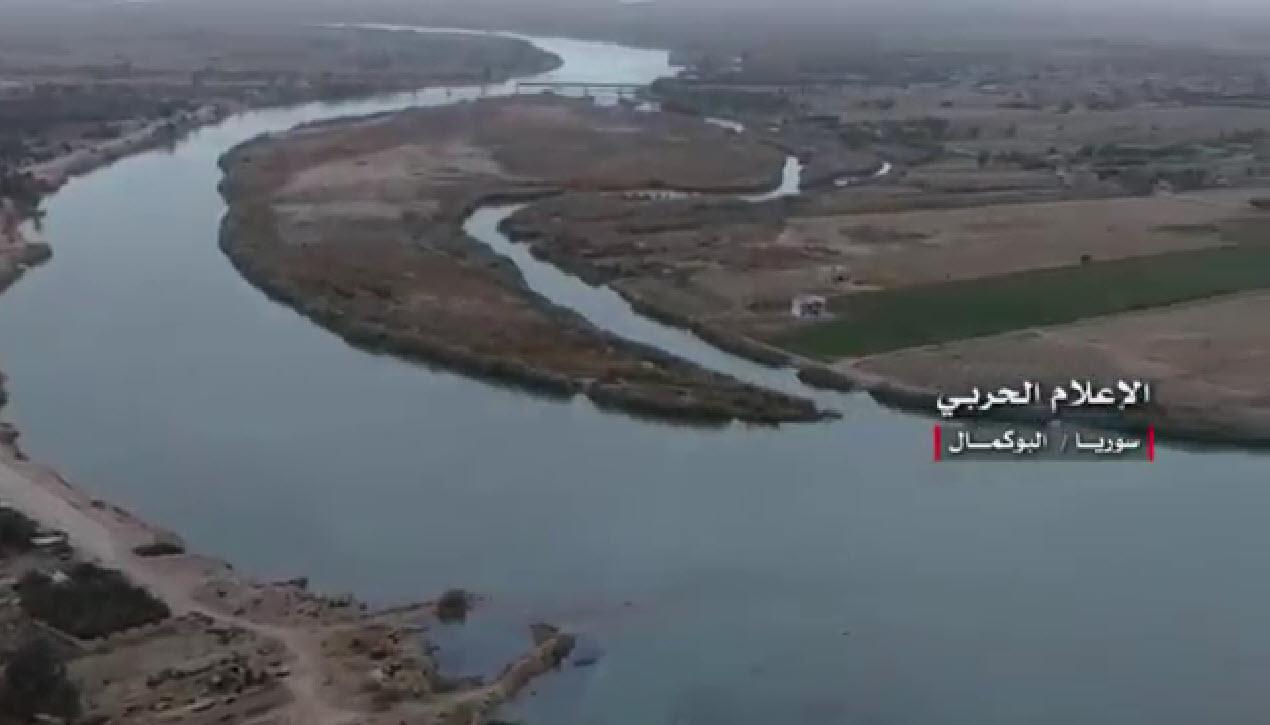 تصاویر هوایی از ابوکمال سوریه پس از آزادی+فیلم