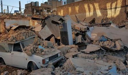 نتیجه تصویری برای شیرین ترین معجزه مادر شوهر برای عروس باردارش در زلزله کرمانشاه +عکس