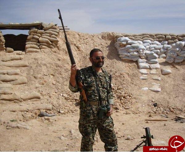 شهید ضیایی از شلمچه تا بوکمال+عکس