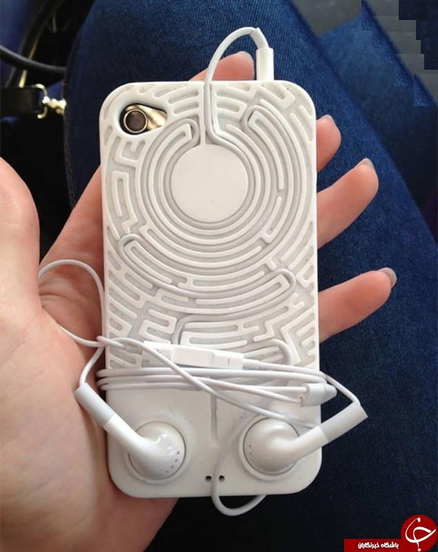 عجیب ترین قابهای موبایل! + عکس