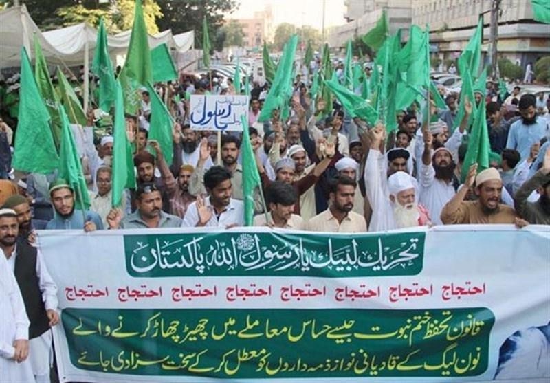 حمله طرفداران حزب «لبیک یا رسول الله» به منزل وزیر قانون پاکستان