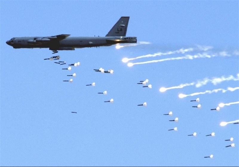 حملات هوایی روسیه به مواضع تروریستها در دیرالزور برای چهارمین روز متوالی