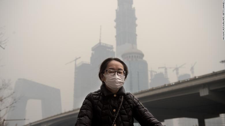 سیانان: آلودگی هوای چین به نقطهای غیرقابل بازگشت رسیده است