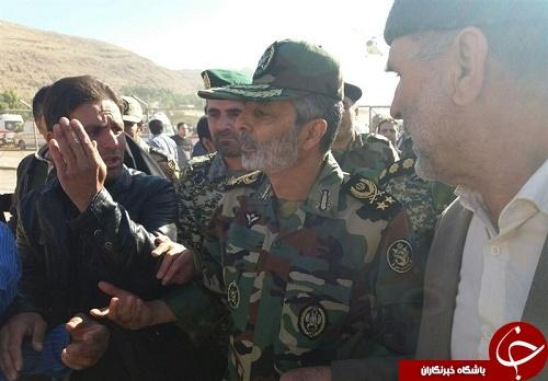 کارنامه درخشان ارتش و سپاه در زلزله کرمانشاه +تصاویر