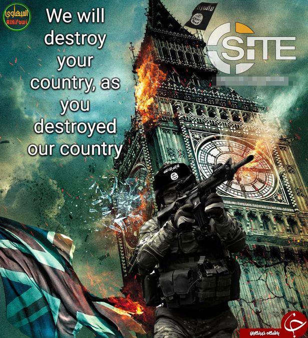 داعش، انگلیس و نیویورک را تهدید کرد+ تصاویر