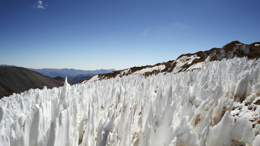 باشگاه خبرنگاران -شناور شدن یک توده عظیم یخ در مشهورترین پارک شیلی+ عکس