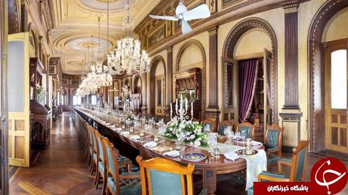 طولانیترین میز شامی که برای ایوانکا در هند چیده شد+ تصاویر