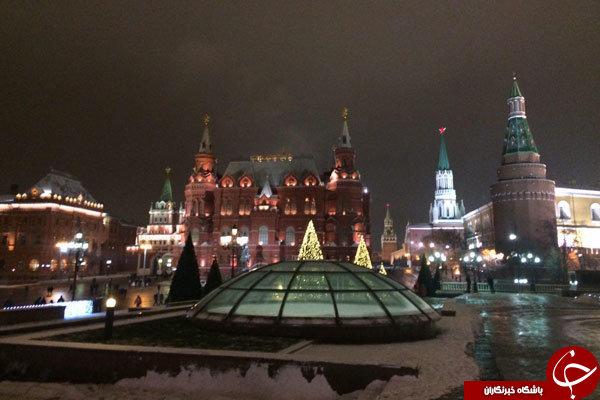 تصاویری از حال و هوای مسکو قبل از قرعهکشی جام جهانی