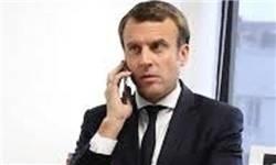 ماکرون: فرانسه به برجام پایبند است/باید با ایران درباره موشکهای بالستیک گفت و گو کنیم