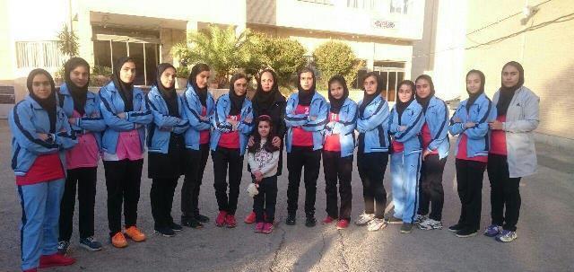کسب مقام سوم پیکارهای قهرمانی هندبال زنان کشور از طریق نوجوانان ملایر