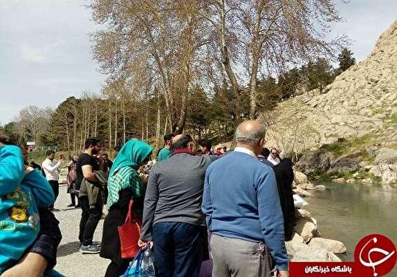 باشگاه خبرنگاران -به کرمانشاه سفر کنیم //گزارش تصویری از حضور گردشگران نوروزی در تاق بستان کرمانشاه