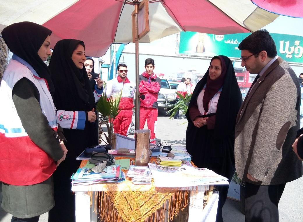 باشگاه خبرنگاران -مراجعه ۶۵۰ خانوار به پست های ایمنی و سلامت نوروزی در نیر