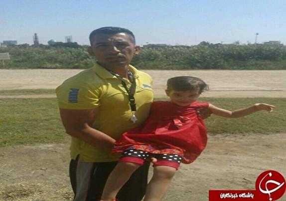 باشگاه خبرنگاران -نجات دختربچه بازیگوش از چنگال رودخانه کارون
