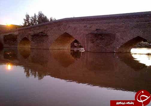 پل تاریخی آق قلا حلقه وصل تاریخ دیروز به امروز