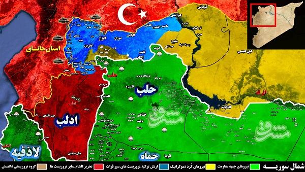 عملیات چریکی هستههای خاموش شبه نظامیان کُرد علیه ارتش ترکیه در عفرین/ تلاش آمریکا برای استقرار نظامیان عربستانی در سوریه + تصاویر