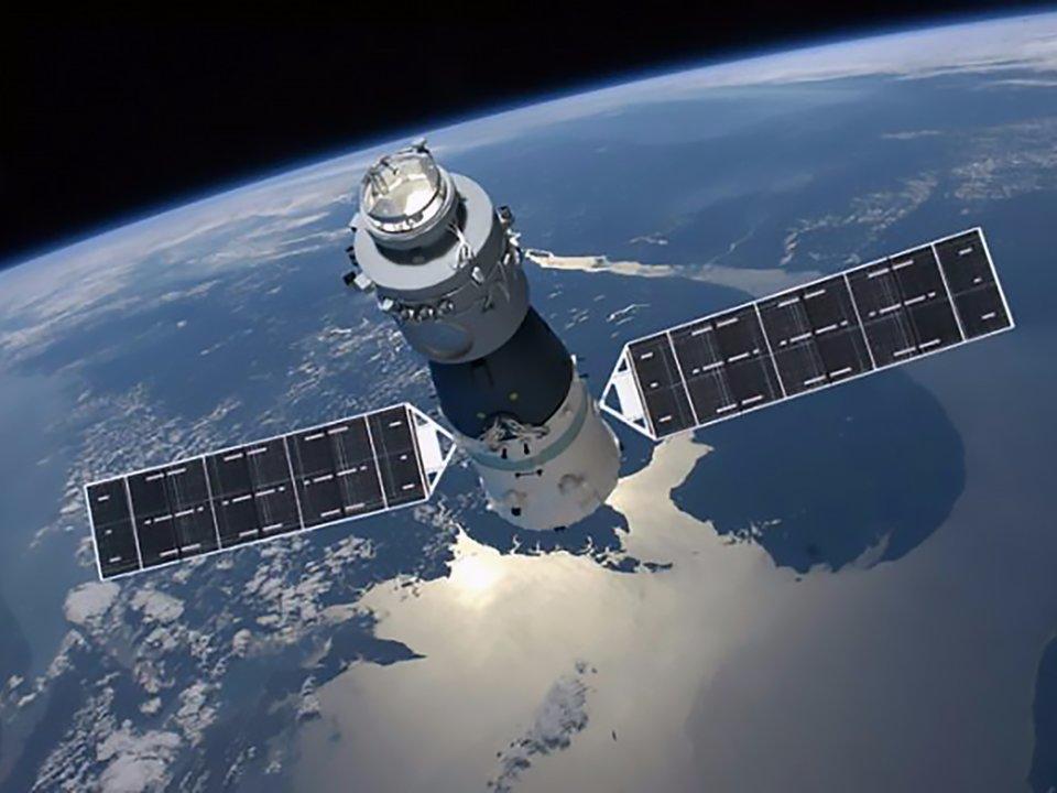 لحظه متلاشی شدن ایستگاه فضایی چین در  زمان ورود به جو زمین + فیلم