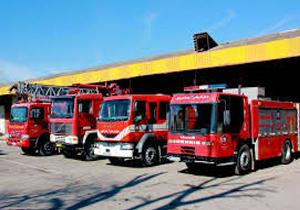 آتش سوزی ساختمان در شیروان با ۱۱ مصدوم