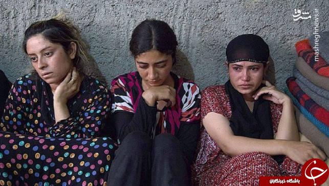 دختران و زنان شیعی که تازیانه زده شدند/فروش 17 دختر ایزدی در اولین بازار برده فروشان