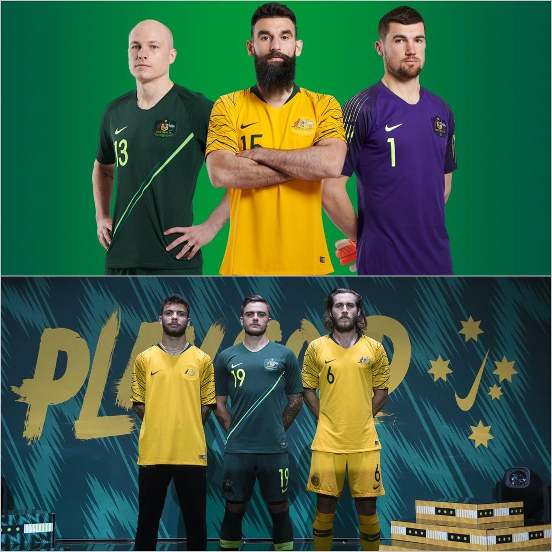 لباس استرالیا برای حضور در جام جهانی 2018 رونمایی شد+ عکس