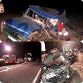 باشگاه خبرنگاران -8 کشته ومصدوم در تصادف زنجیرهای سه دستگاه خودرو در محور نهبندان-زاهدان