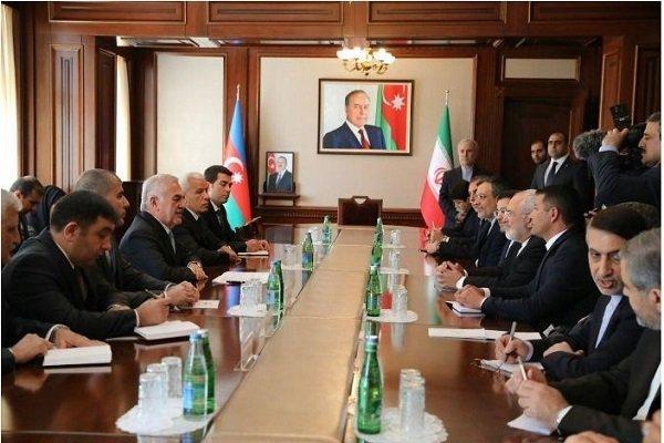 ظریف با ریاست مجلس عالی جمهوری خودمختار نخجوان دیدار کرد