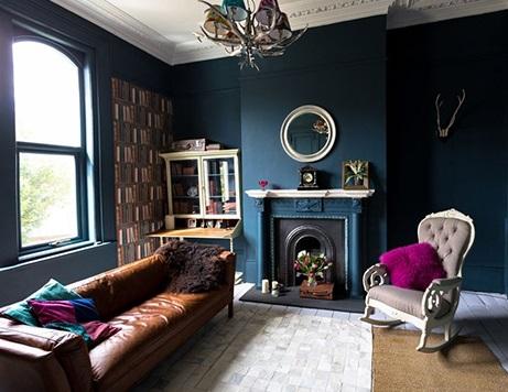 باشگاه خبرنگاران -ترفندهایی برای رنگ آمیزی خانههای کوچک