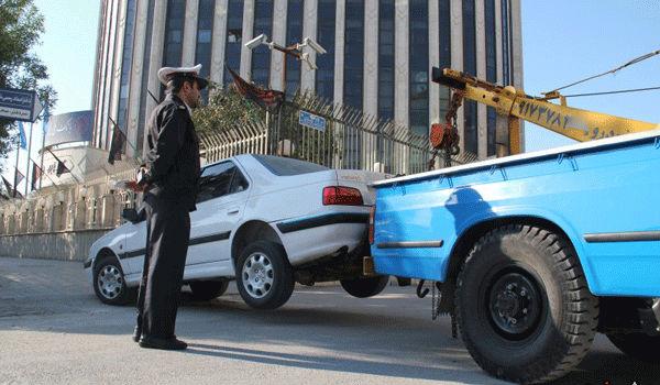 آیا پلیس حق حمل خودرو با جرثقیل در حضور مالک را دارد؟